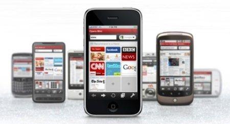 Opera Mini en el iPhone e iPod touch: A favor