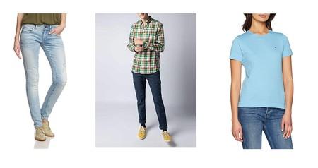 Chollos en tallas sueltas de pantalones, camisetas y sudaderas de marcas como Tomy Hilfiger, G-Star, El Ganso o Quiksilver en Amazon