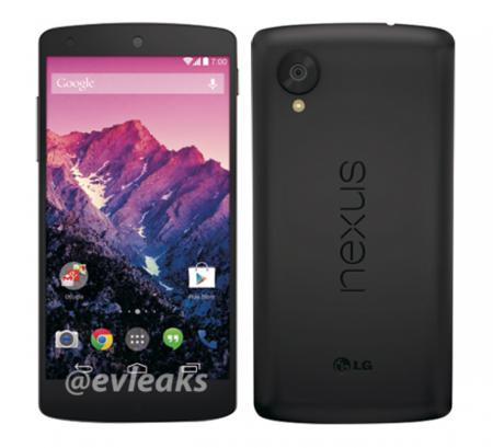 Nexus 5 en blanco