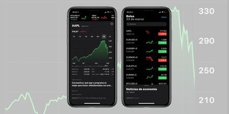 Cómo usar la app Bolsa en nuestro iPhone, iPad o Mac