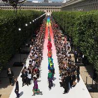 Virgil Abloh debuta en Louis Vuitton con una colección llena de contrastes y orgullo LGBTTT