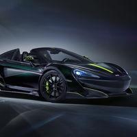 El McLaren 600LT Spider Segestria Borealis se viste de negro y verde arácnido para una nueva edición limitada de MSO