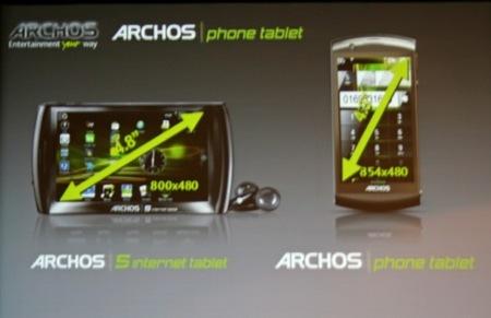 Pronto habrá también un teléfono de Archos con Android