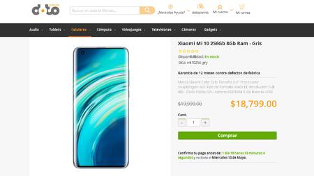 Xiaomi Mi 10 Tienda Linea Doto Mexico Precio