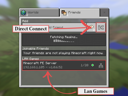 Minecraft Pe Lan Server