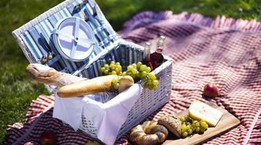 Cestas de picnic que enamoran para verano y primavera