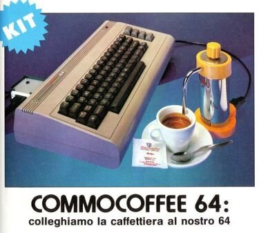 CommoCoffee, cafetera para el Commodore