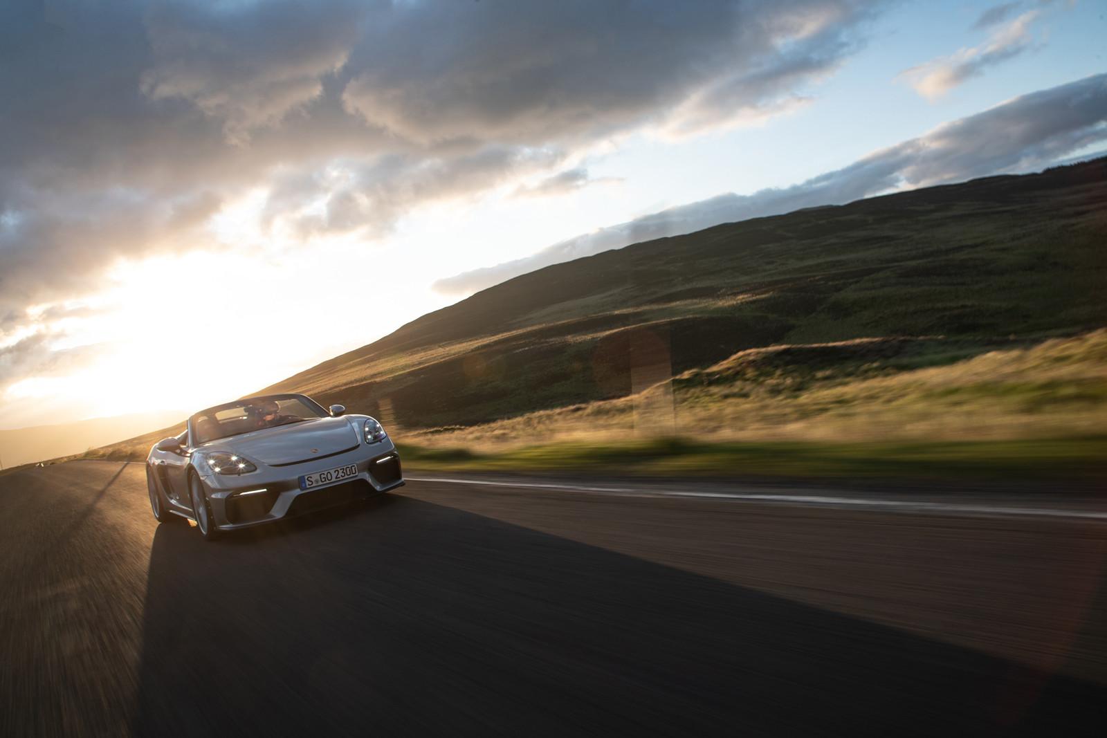 Foto de Porsche 718 Spyder (prueba contacto) (206/296)