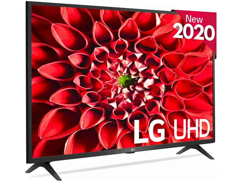 "TV LED 43"" - LG 43UN73006LC, UHD 4K 3840 x 2160, Smart TV, Bluetooth, WiFi, Asistentes de voz, A, Negro"