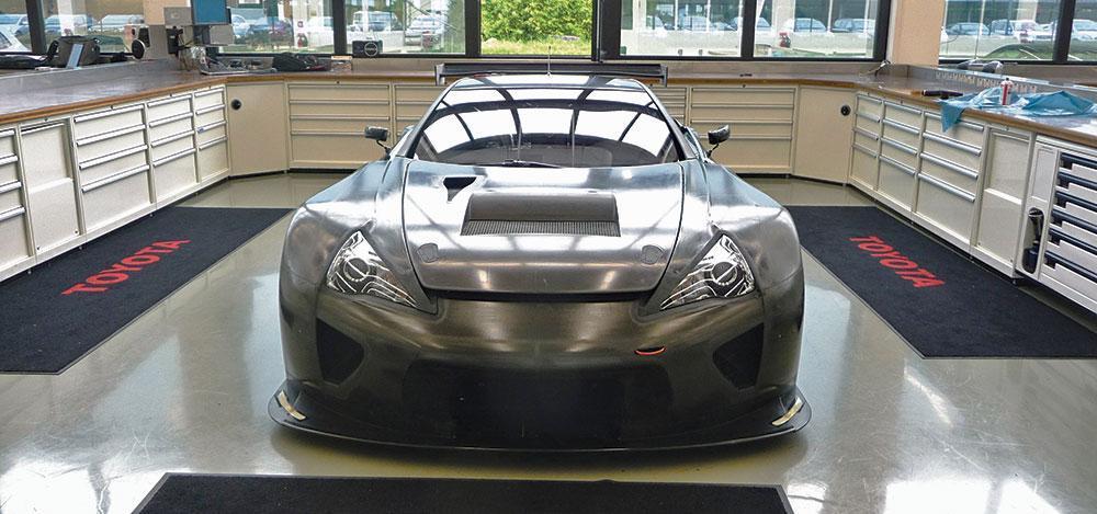 Foto de Lexus LFA GTE (2/6)
