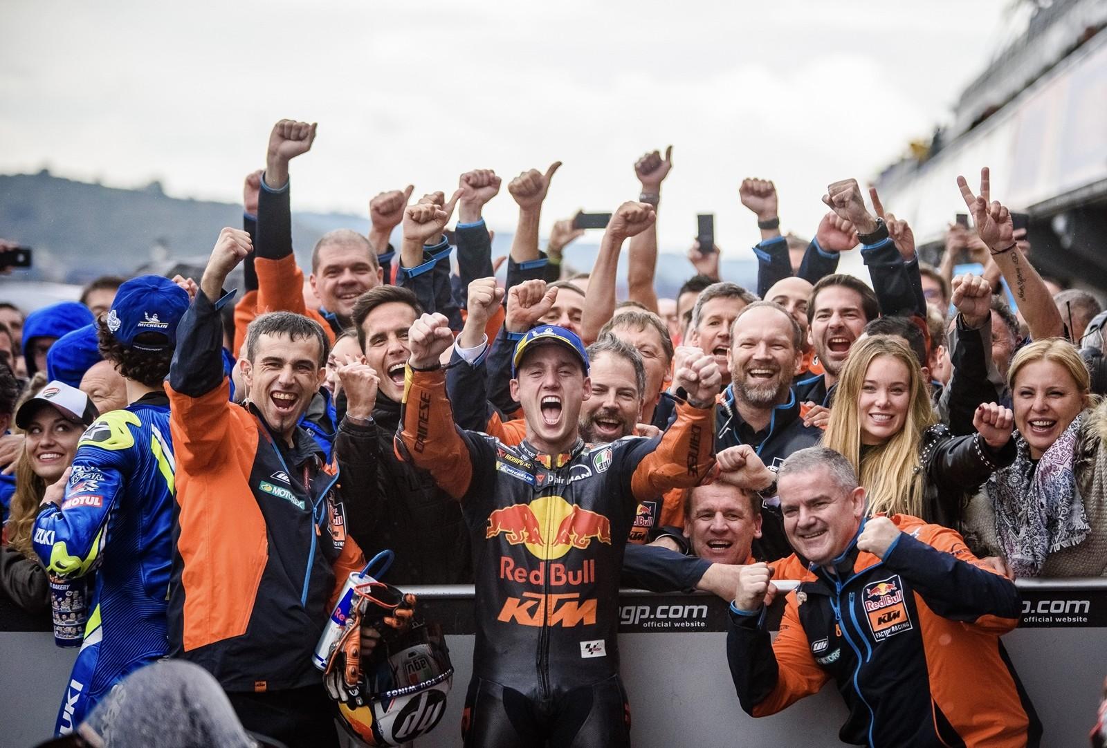 Foto de KTM y el mejor día de su vida en MotoGP (1/10)