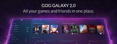 Hemos probado GOG Galaxy 2.0, la plataforma que reúne todas nuestras bibliotecas de juegos en una sola, aunque le queda demasiado por mejorar