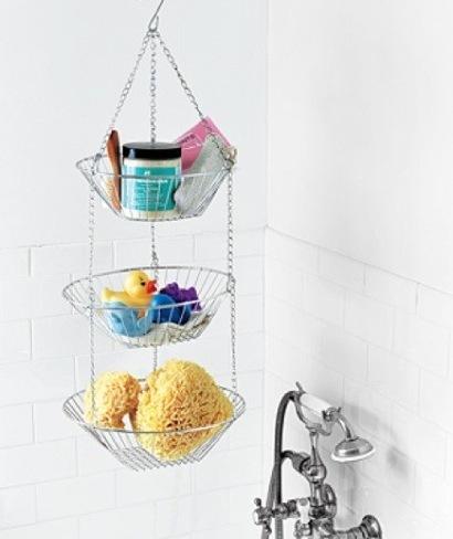 fruteros baño ordenado