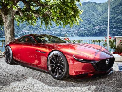 El Mazda RX-VISION ha venido al Concorso d'Eleganza Villa d'Este. ¿Podríais fabricarlo?