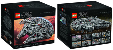 Millennium Falcon Lego 6
