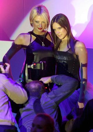 Paris Hilton con la moda rusa
