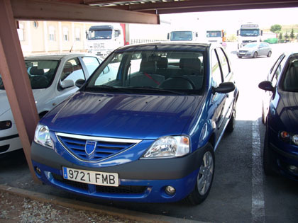 Prueba: Dacia Logan 1.4 (parte 2)