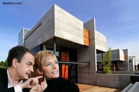 Casas de famosos: el nuevo chalet de Zapatero