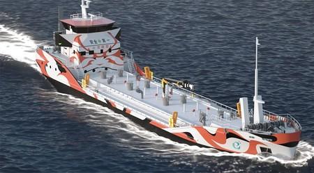 El primer buque petrolero eléctrico llegará en 2023 de la mano de Mitsubishi y servirá de 'gasolinera' en la bahía de Tokio