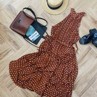 Probamos el vestido de lunares estilo Pretty Woman a la venta en Amazon por menos de 14 euros y esta es nuestra opinión