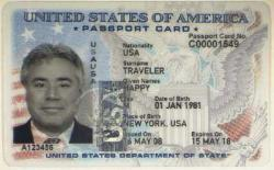 Passport card USA