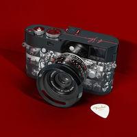 "'Leica M Monochrom ""Signature""', otra edición especial de una Leica customizada por Andy Summers (guitarrista de The Police)"