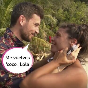 El emotivo reencuentro de Iván y Lola en 'Supervivientes' a lo Rosa Benito y Amador Mohedano