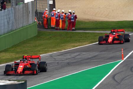 Leclerc Imola F1 2020