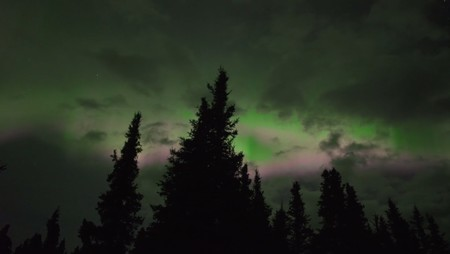 Aurora boreal otoño