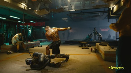 Cyberpunk2077 Sparring Session Rgb En