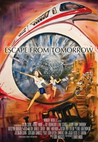 Primer póster de Escape From Tomorrow