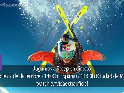 Jugamos en directo a Steep a las 18h (las 11h en Ciudad de México)