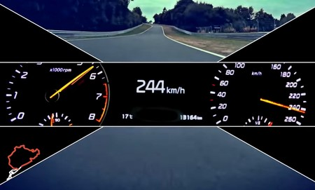 Primer aviso del Kia GT, con 315 CV y rodando a 250 km/h en Nürburgring
