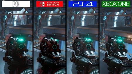 Así luce DOOM en Nintendo Switch frente al resto de versiones