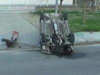 Dos heridos por culpa de una carrera callejera