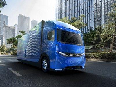 Daimler presenta su  camión eléctrico: 350 km de autonomía y 11 toneladas de carga