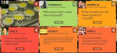 McDonalds se sincera con los internautas en su nueva campaña