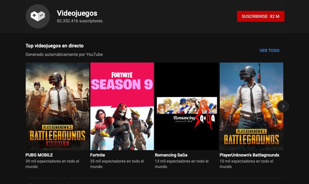 Youtube Gaming desaparecerá y los contenidos pasarán a una sección de videojuegos en YouTube