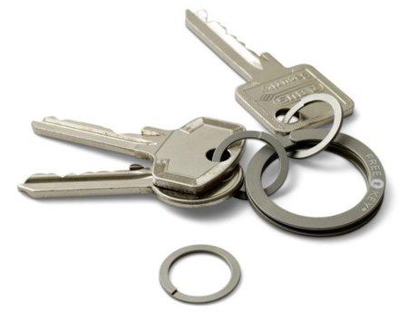 Free Key, un anilla para las llaves con abrefácil