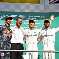 Una más para Nico Rosberg en un accidentado GP de Bélgica de F1