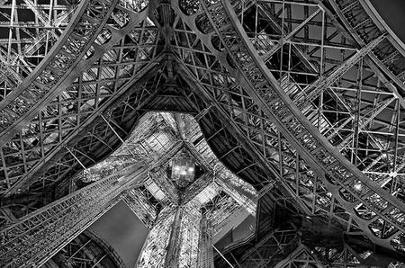 Under the Tower (b&w)