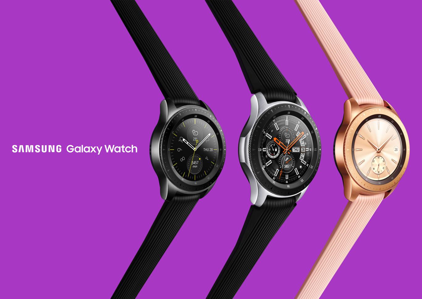 Samsung Galaxy Watch Reloj inteligente Bluetooth (42 mm) color negro Version española