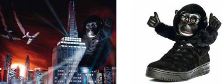 Zapatillas Adidas Gorilla por Jeremy Scott