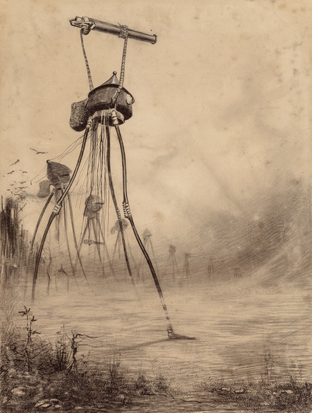 The War Of The Worlds By Henrique Alvim Correa Orginal Graphic 16