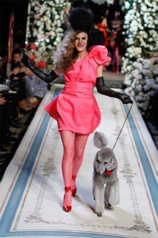 Lanvin HM, colección Alta Costura, vestido rosa