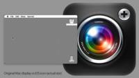 Un icono de la pantalla Retina del iPad tiene más resolución que toda la pantalla del Macintosh original