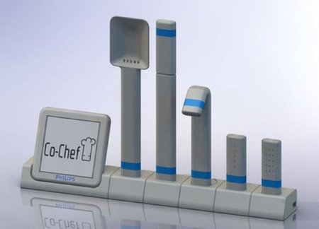 Co-chef, un asistente de cocina de diseño