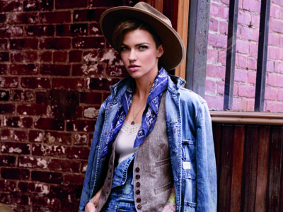 Ruby Rose, icono gay, imagen de la campaña Denim & Supply de Ralph Lauren. ¿La moda puede dar la temperatura de una sociedad?