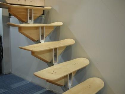 Escalera para locos del Skate