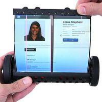 Así es MagicScroll, una tablet con pantalla flexible 2K de 7,5 pulgadas que se puede enrollar